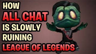 ALL CHAT SYNDROME - Riot Can't Save Us From Ourselves...