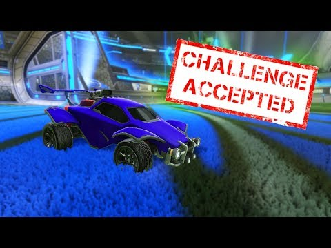 The hardest Rocket League challenge of my life thumbnail