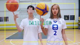 [재능기부편] 前 농구선수한테 배우는 농구!!ㅣ인생 첫…