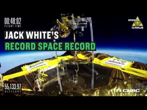 Jack White's record breaking space record | CNBC International