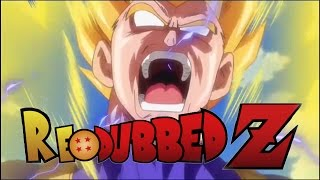 Repeat youtube video Dragon Ball Super ENGLISH REDUB - Beerus Slaps Bulma (Vegeta's SSJ Theme)