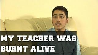 Army Public School attack survivor.