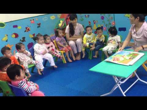 """Kể truyện """"Quả trứng"""" – lớp Ong Bee – MN Chị Ong Nâu (chiongnau.com)"""