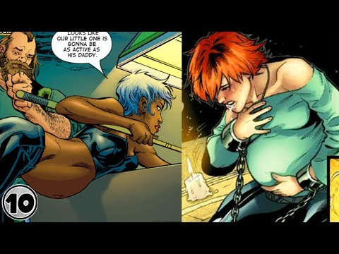 Top 10 Superheroes You Never Knew Got Pregnant