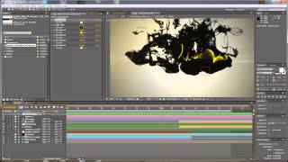 After Effects Tutorial - Ink Drops Logo Reveal Customization