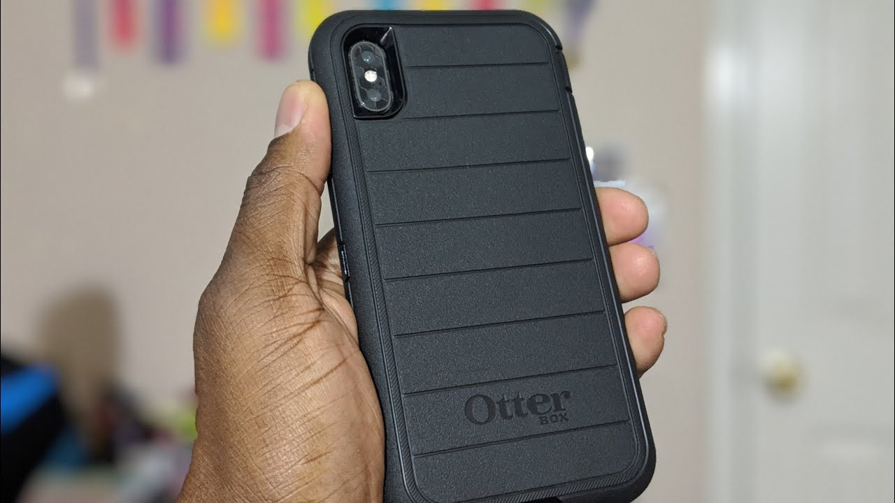 buy online c994c 7be96 iPhone XS Max | Otterbox Defender Pro Unboxing & Review