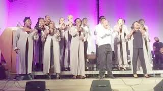 Accapella song What if God Gospel'N Life Harmony Live in Germany Gospel Kirchentag 2018