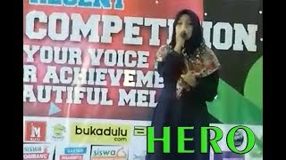 Lailah Ahimmatur R. ~ Hero || Harmoni Dewantara Singing Competition || 18/03/2018