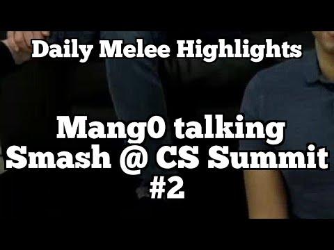 Daily Melee Highlights: Mang0 talking Smash @ CS Summit #2