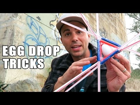 1st place Egg Drop project ideas- using SCIENCE