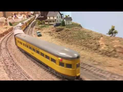 Grand Canyon State RR – Model Railroad Club layout in HO scale
