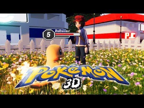 Amazing Pokemon 3D Gameplay! | Pokemon 3D On unreal Engine!