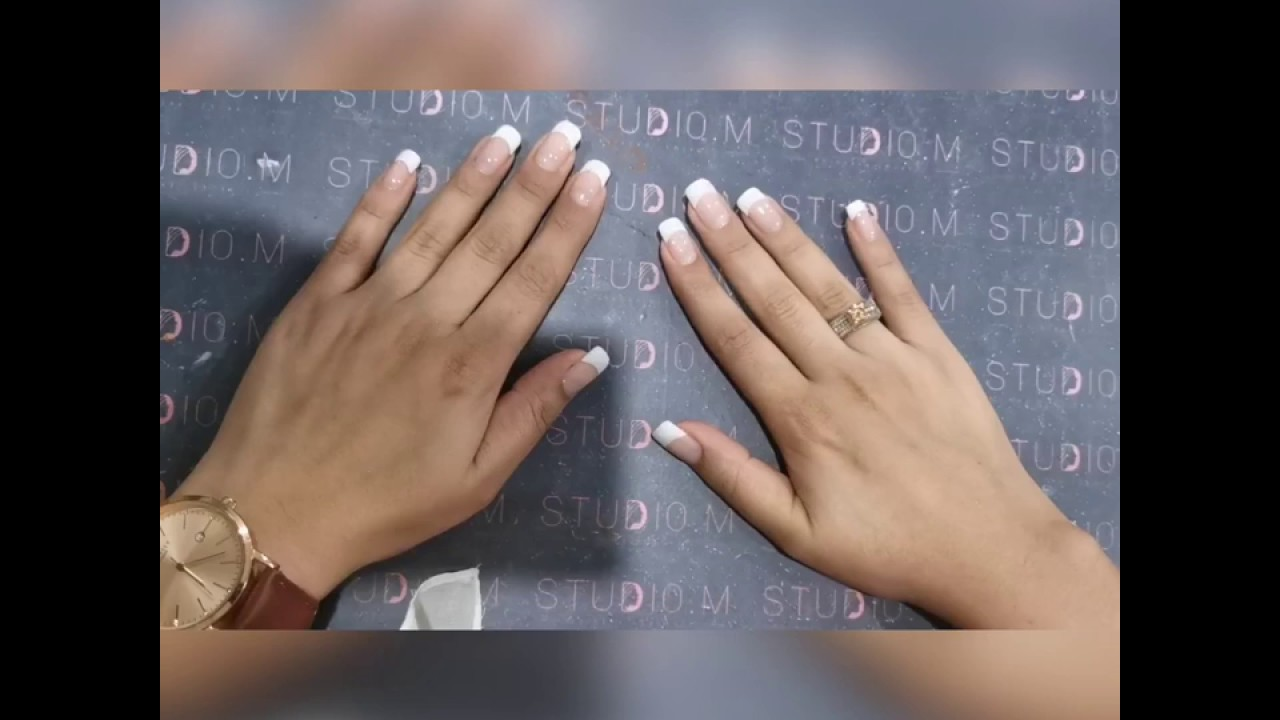 How to do : GEL / ACRYLIC NAILS (step by step ...