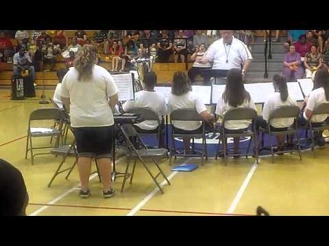 Eaton Johnson Middle School Band 3