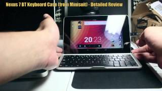 nexus 7 bluetooth keyboard from minisuit detailed review