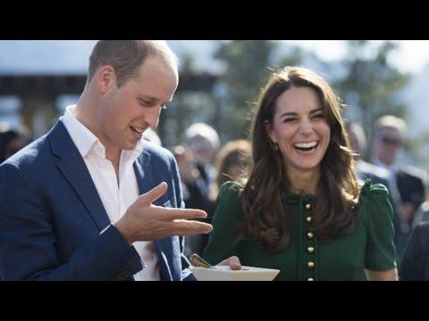 Duke and Duchess of Cambridge get a taste of Kelowna, B.C.