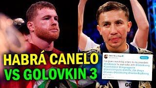 CANELO VS GOLOVKIN 3 YA SE ESTA NEGOCIANDO, ¡HABRÁ TRILOGÍA!