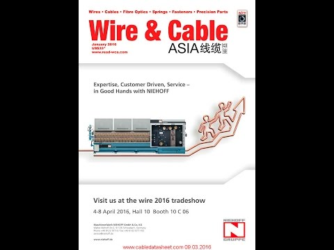 Wire & Cable Asia Magazines WCA January 2016