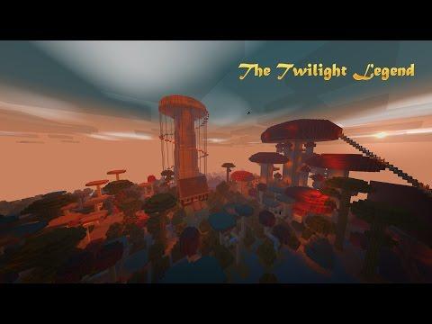 Minecraft PE-The twilight legend Official trailer