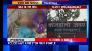 15-year-old girl burnt alive for resisting rape in Greater Noida