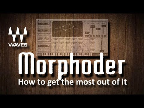 How To Use Waves Morphoder (VOCODER Plugin)
