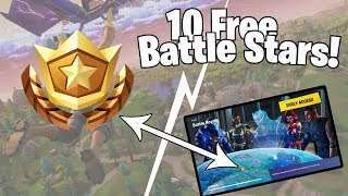 Free Battle Stars in Week 3 Hidden Location! | Fortnite Battle Royale