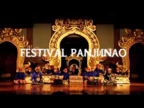 Balerung Stage / Festival Panji / inao Legong Lassm