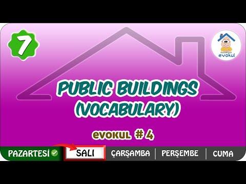 Public Buildings (Vocabulary) | 7. Sınıf #uzaktaneğitim #evokul Kampı