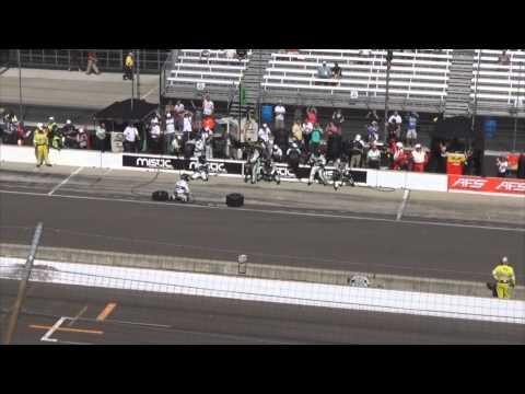 Sebastien Bourdais Classic Inaugural Indy Gran Prix Record Pitstop 2014