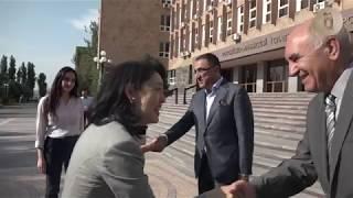 Супруги министров иностранных дел Японии и Армении посетили РАУ