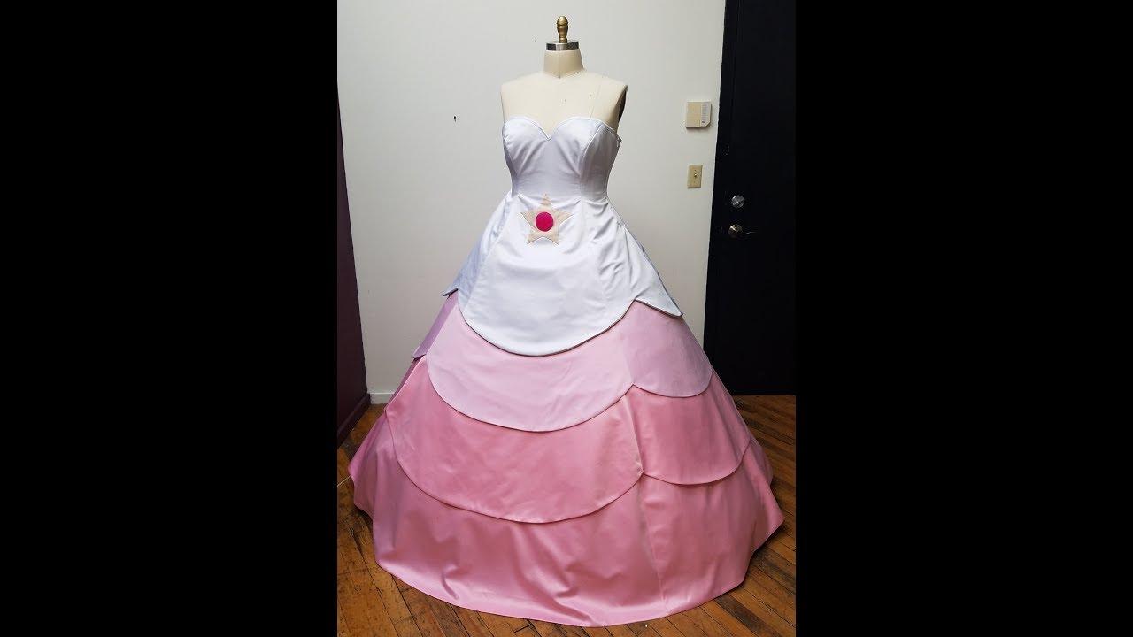 Rose quartz cosplay dress