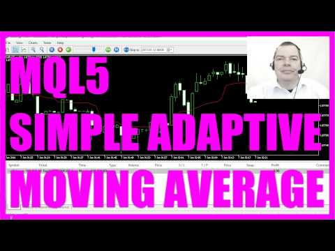 MQL5 Tutorial - Simple Adaptive Moving Average Robot