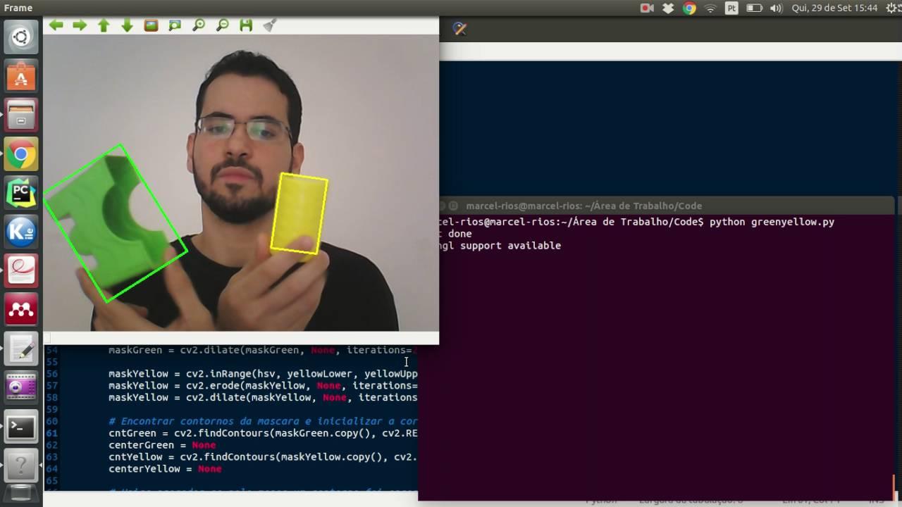 Reconhecimento de Cores Python + OpenCV