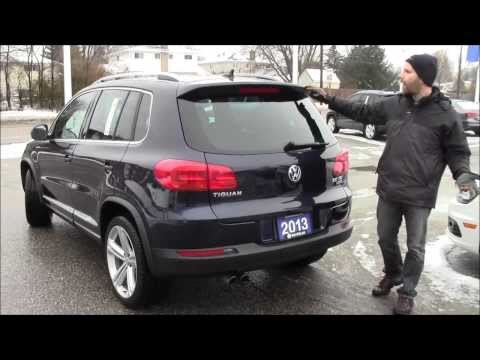 2013 VW Tiguan RLine at Volkswagen Waterloo with Robert Vagacs