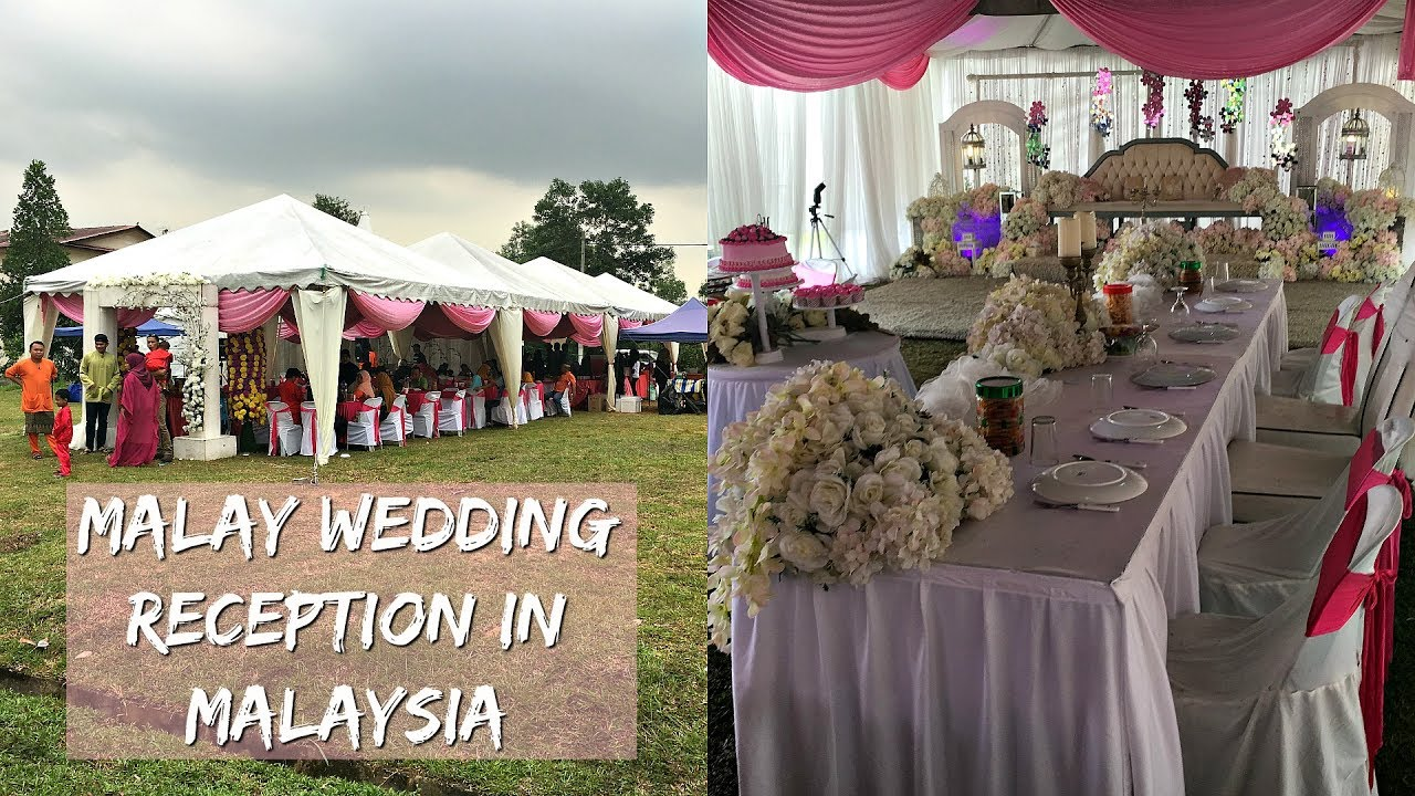 Muslim Malay Wedding Reception In Malaysia