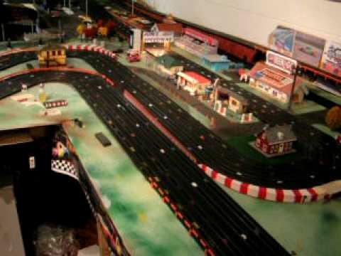 ho slot car track racing youtube. Black Bedroom Furniture Sets. Home Design Ideas