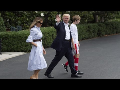 Is Barron Trump Becoming The First Boy Of Fashion?
