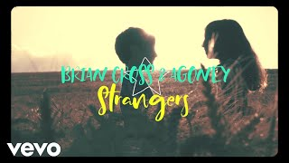 Brian Cross, Agoney - Strangers (Lyric Video)