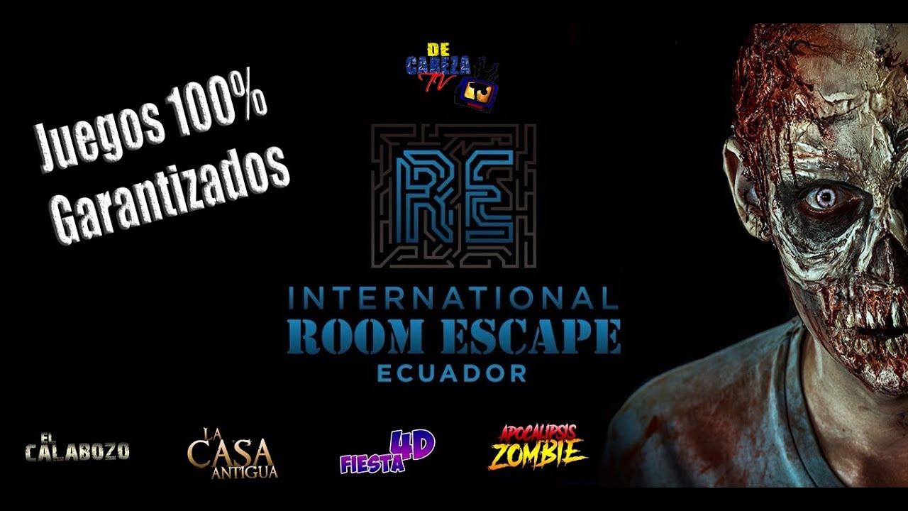 Room Escape Ecuador / Reportaje De Cabeza