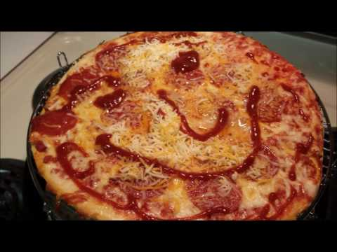 NuWave Oven Pro ~ Frozen Pizza