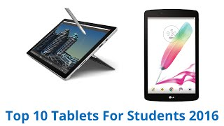10 Best Tablets For Students 2016