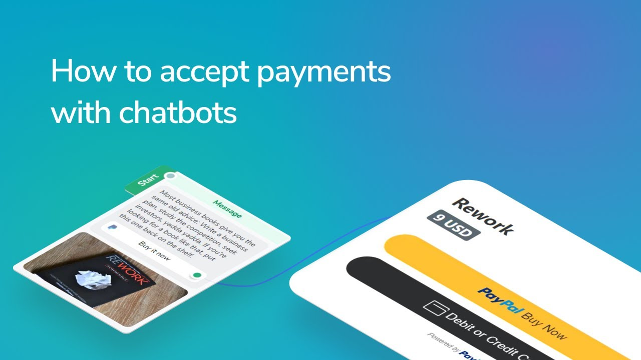 How to accept payments with chatbots