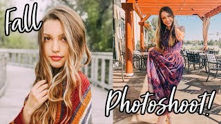 FALL INSTAGRAM PHOTOSHOOT!! Sydney Serena Vlogs