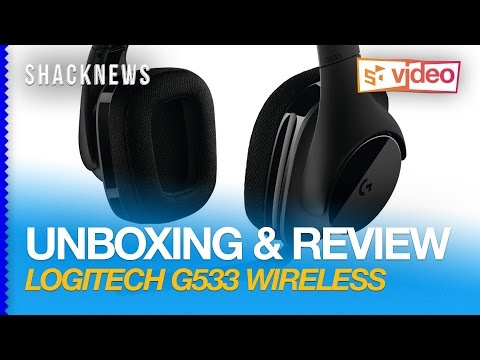 Unboxing & Review: Logitech G533 Wireless Headset
