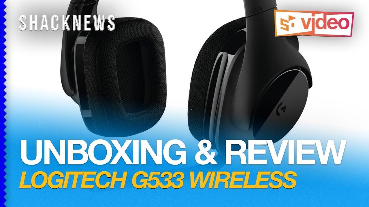 Unboxing & Review: Logitech G533 Wireless Headset