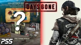 Days Gone PS4 Pre Order Bonuses and Collectors Editions Detailed! (Days Gone New 2019 Trailer)