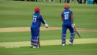 Afghanistan Cricket Match vs Sir Paul Getty Cricket 1st Innings