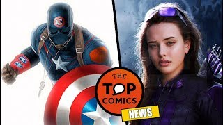 ¿Nuevo Capitán America? I Young Avengers en el UCM I Attack on Titan I Breaking Bad