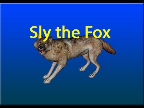 poser daz 3d sly the fox animation test