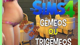 COMO TER GÊMEOS OU TRIGÊMEOS - The Sims 4